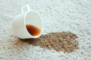 Carpet cleaning for spots and spills